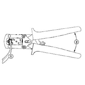 パンドウイット モジュラープラグ圧着工具 MPT5-8AS