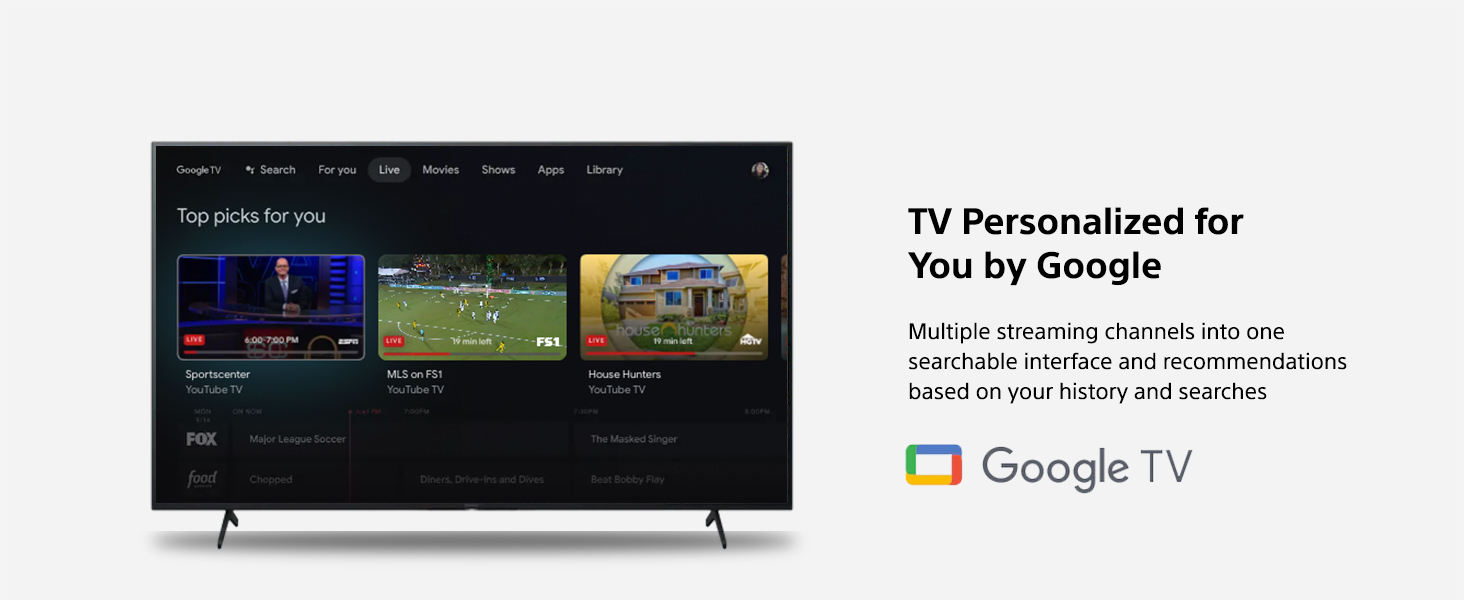 Google TV (Recommended content)