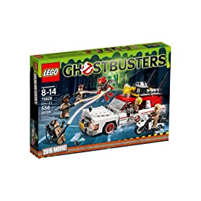 LEGO Ghostbusters Ecto-1 & 2 Vehicles Building Kit