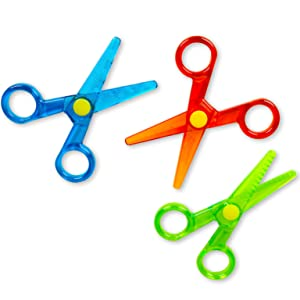 Amazon Com Crayola My First Safety Scissors Toddler Art Supplies 3ct Toys Games