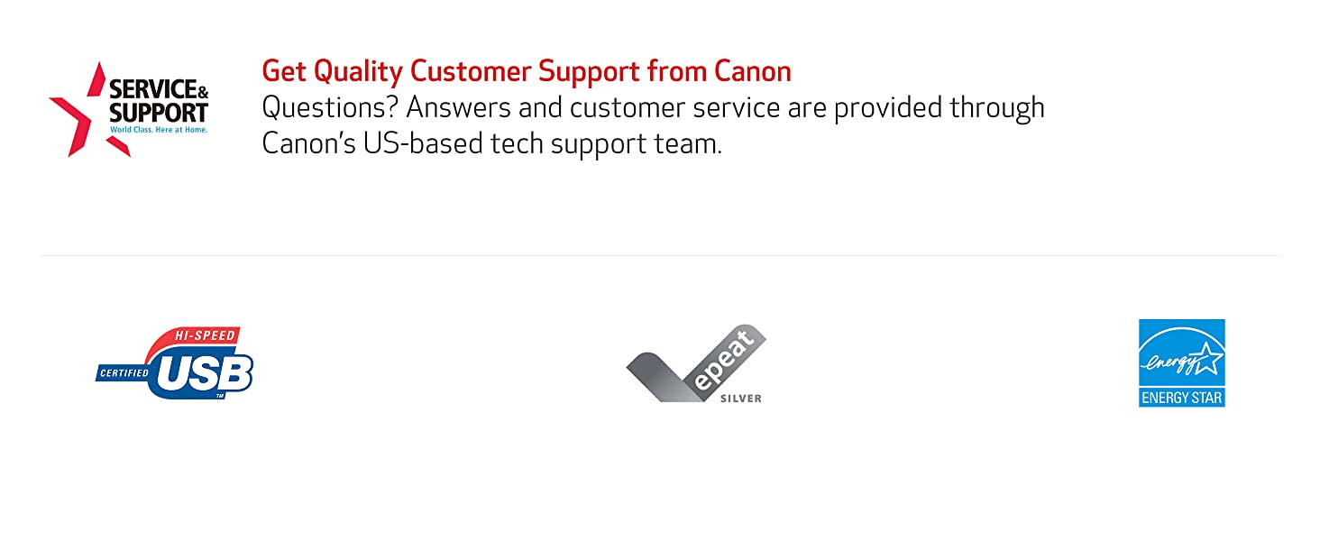 Get Quality Customer Support from Canon