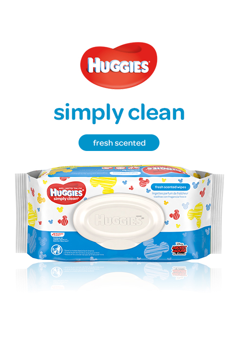 Huggies Simply Clean Fresh Scent Wipes