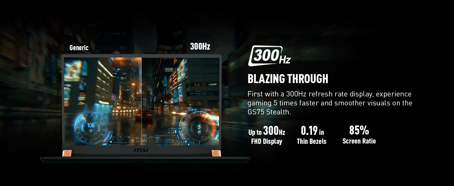 300hz refresh rate display