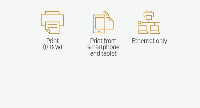 print black white duplex mobile device smartphone tablet Ethernet