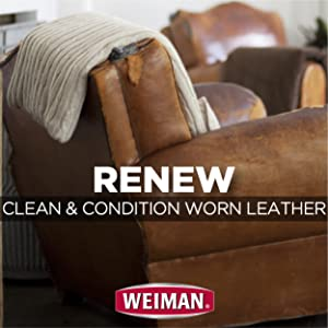 Renew - Clean Condition Worn Leather