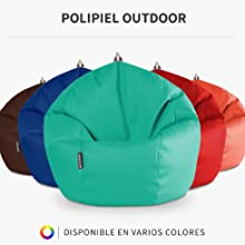 HAPPERS Puff Pelota Estampado School: Amazon.es: Hogar