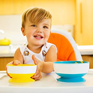 munchkin stay put bowls