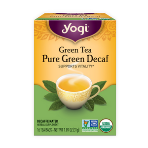 B0009F3SDW Yogi Tea, Simply Decaf Green, 16 Count