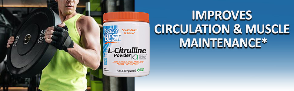 L-Citrulline nitric oxide metabolism muscle protein relieve muscle fatigue vascular health