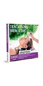 TENTATIONS BIEN-ÊTRE coffret box cadeau Smartbox