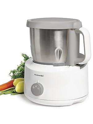 Suavinex - Robot de Cocina Bebé 5 en 1: Cocina, Tritura, Calienta ...