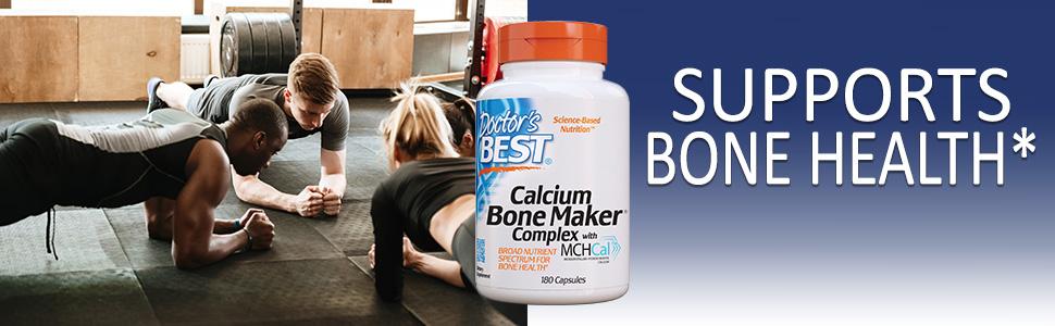 Calcium Bone Maker bone health supplement collagen MCH-Cal healthy bone calcification