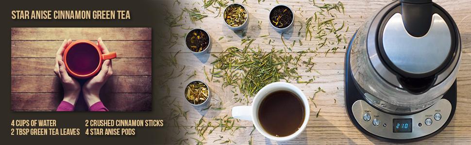 tea; recipe; tea recipe; healthy recipe; healthy; tea infuser; tea kettle; tea leaves