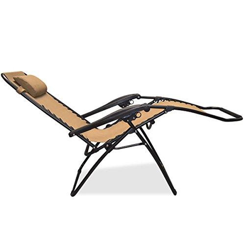 zero gravity patio chair reclining  sc 1 st  Amazon.com & Amazon.com: Caravan Sports Infinity Zero Gravity Chair Beige ... islam-shia.org