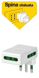 Vimar, adattatore, adattatore multiplo, adattatore salvaspazio, adattatore, adattatore elettrico