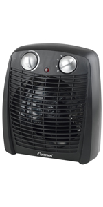 nero Bestron AFH218 Riscaldatore di ventilatore