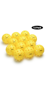 A11N PREMIUM 40 HOLES OUTDOOR PICKLEBALL BALLS