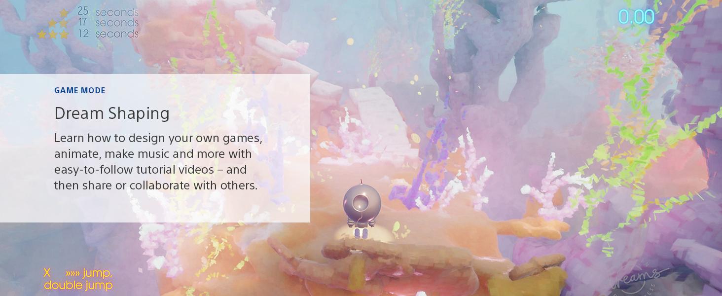 Dreams, PlayStation 4