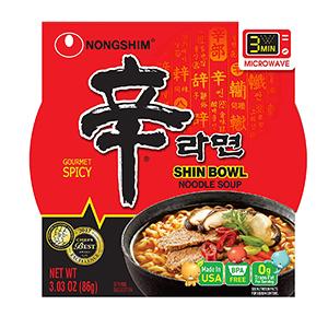 Shin Noodle Soup Bowl