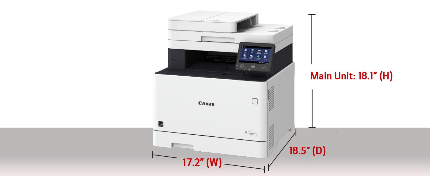 Amazon.com: Canon Color imageCLASS MF741Cdw - Impresora ...
