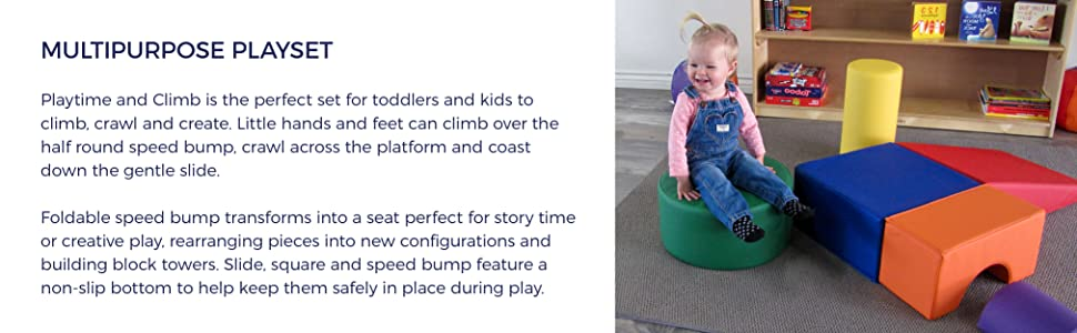 fdp, climber, soft, blocks, early, childhood, toddler