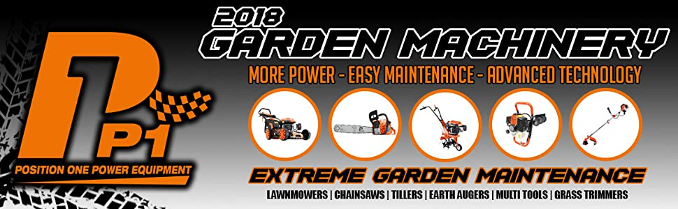 2018 GARDEN MACHINERY
