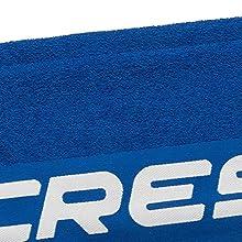 Cressi Sport Towel Toalla Deportiva Unisex Adulto 50x120cm Lime
