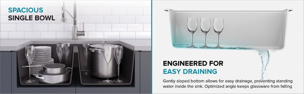 kitchen basin, kitchen sink, composite kitchen sinks, composite sink, granite composite sinks