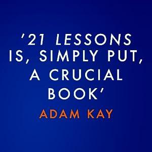 21 lessons deus sapiens