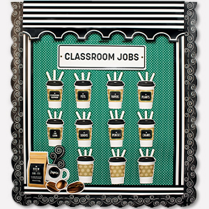 industrial cafe classroom decor
