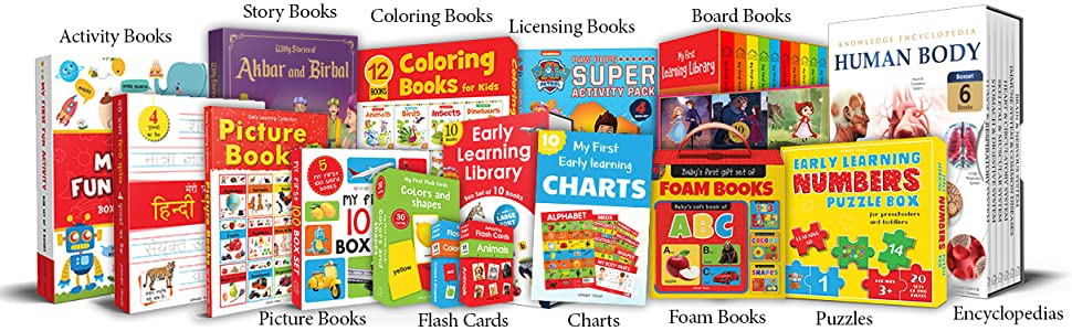 Nursery Rhymes Board Book (My First Book Series): Illustrated Classic Nursery Rhymes