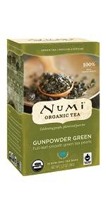gunpowder green organic