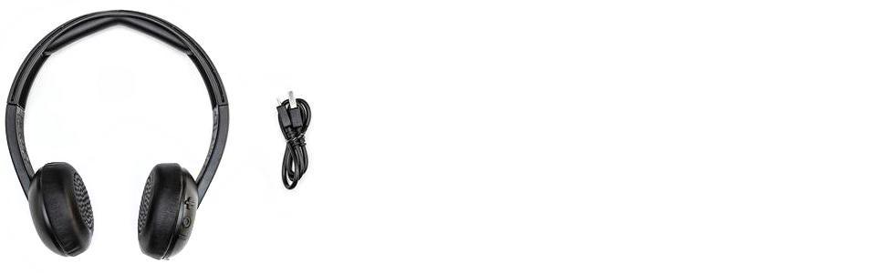 skullcandy uproar wireless bluetooth on ear leicht amazon. Black Bedroom Furniture Sets. Home Design Ideas
