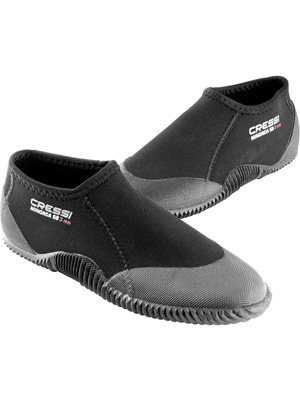 Cressi Minorca Shorty Boots - Escarpines Bajos en Neoprene 3mm