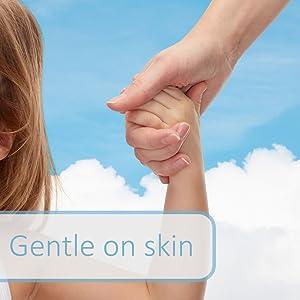 Gentle on Skin