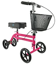 KneeRover Knee Scooter also comes in hot pink