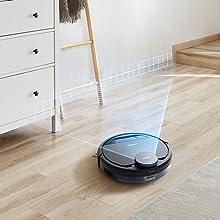 Ecovacs DEEBOT Pro 930 Suelos y alfombras con aspiradora de Mano ...
