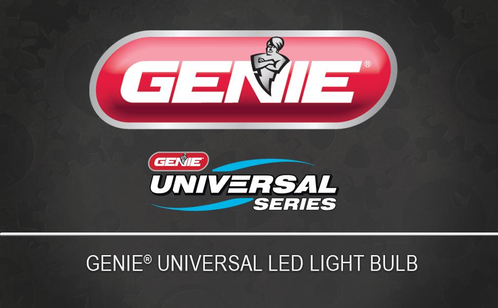 Genie universal led garage door opener led light bulb