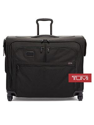 TUMI - Alpha 2 & Alpha 3 Medium Trip 4 Wheeled Garment Bag - Dress or Suit Bag for Men and Women