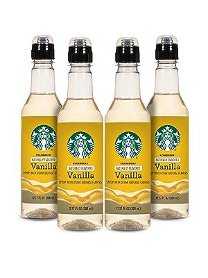 Starbucks Naturally Flavored Vanilla Coffee Syrup
