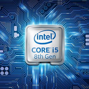 最新第8世代インテル Core i 5プロセッサー搭載