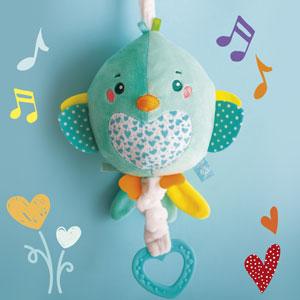 Clementoni Soft Bird melodie