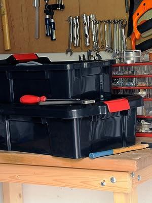 Boîtes de rangement en plastique Power Box