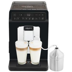 Krups Evidence Espresso EA891810 - Cafetera Superautomática 15 Bares, 15 Preajustes, Niveles de Intensidad, Molido Grano, Autolimpieza y ...