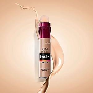 eraser eye concealer makeup dark circles maybelline