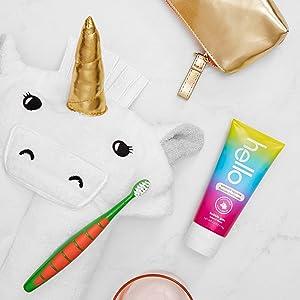 hello unicorn sparkle bubblegum paste