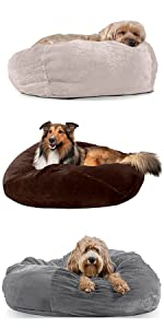 ball bed; bean bag; cube; dog bed; cat bed; pet bed