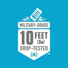 10-foot drop tested