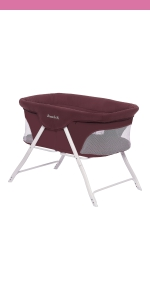 bassinet, cradle, dream on me, traveler, portable, lightweight