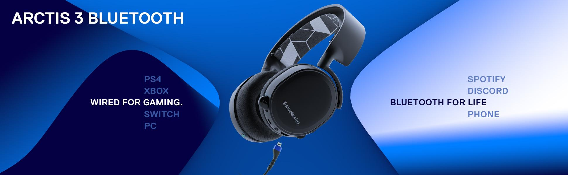 SteelSeries Arctis Bluetooth - Wireless All-Platform